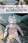 How to make scarecrows kid sized