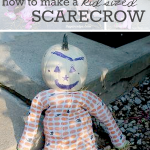 How to Make Kid Size Scarecrows