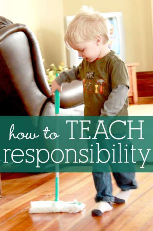 How to Teach Kids Responsibility
