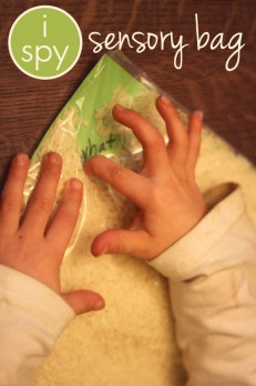 I Spy Sensory Bag for Sight Words & Letters