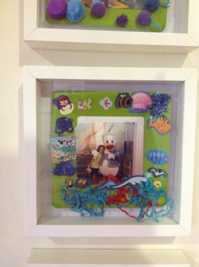 Paper Plate Memory Frames from The Crafty Doolittle's