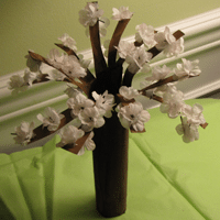 Cherry Blossoms Craft