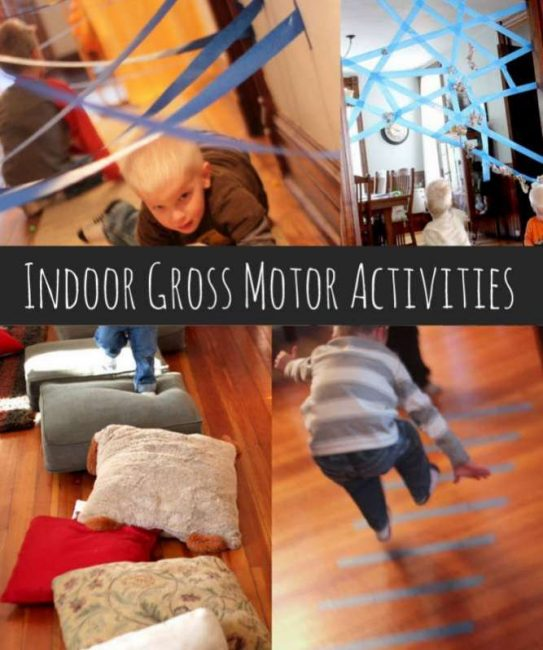 Hundreds of indoor activities for kids under 5 for Indoor large motor activities for toddlers