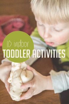 10 indoor toddler activities to do when you're stuck inside for awhile