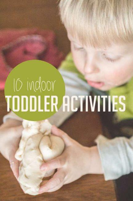 10 Indoor Activities For Toddlers Hands On As We Grow