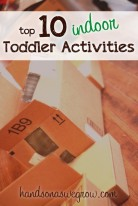 Top 10 indoor activities for toddlers to do