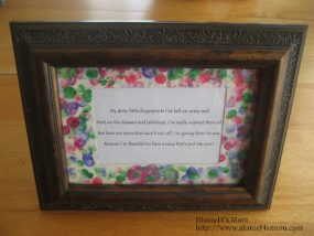 Mother's Day Craft: Fingerprints are Everywhere from Jdaniel4's mom