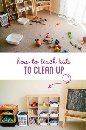 How to get kids to clean up? Simple secret to do today to get the kids to clean up on their own.