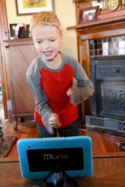 Kurio Xtreme body motion apps for kids