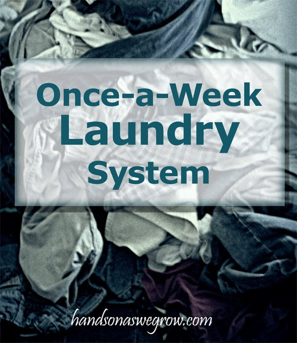 Once-a-Week Laundry Tip #maytagmoms