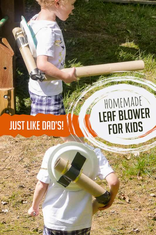 Homemade Leaf Blower Fall Craft For Kids Hands On As We Grow