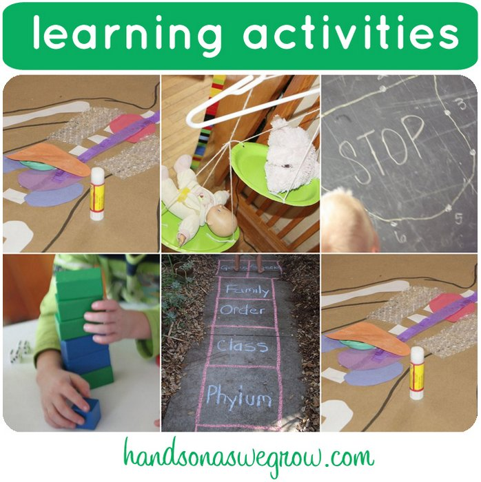 learning activaties