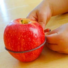 Estimating Circumference of an Apple