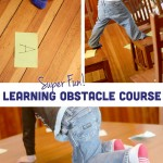 Learning [Plus its Fun!] Indoor Obstacle Course for Kids