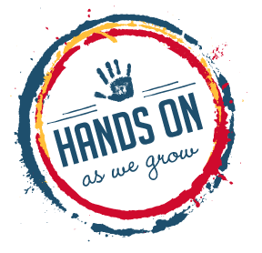 hands on as we grow logo
