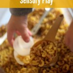 Sensory Activity: Dry Pasta Noodles