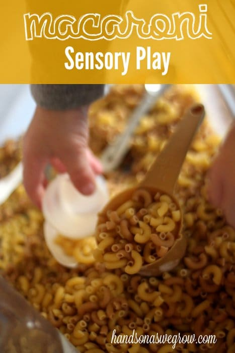 Macaroni Sensory Activity