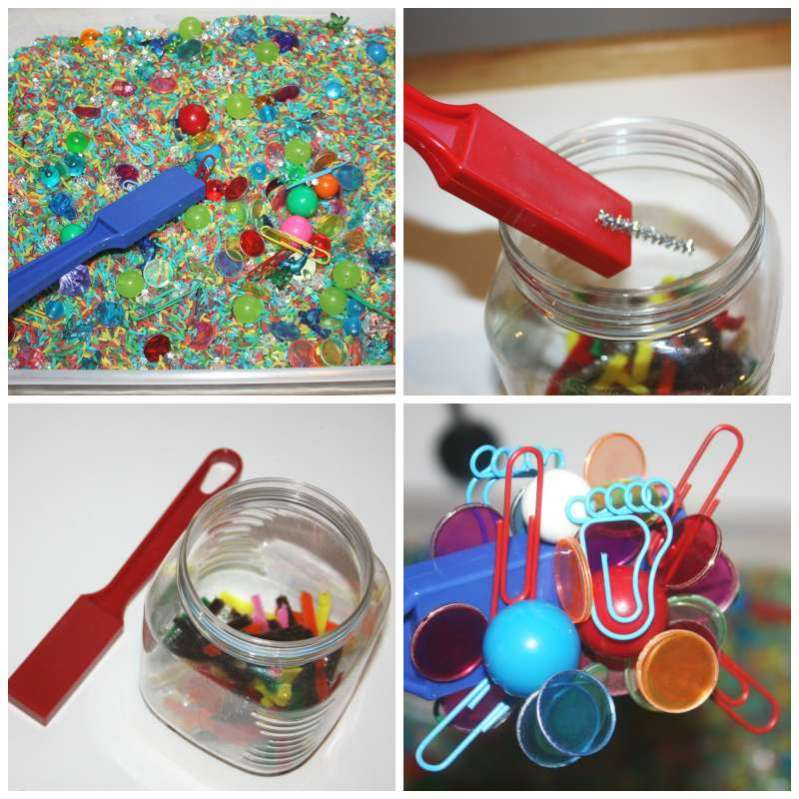 Exploring Magnets Discovery Table From Little Bins For