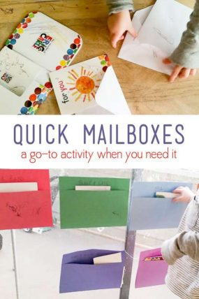 Mailbox Pretend Play as This Reader's Go-To Activity