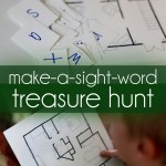 Make a Treasure Hunt to Make Sight Words