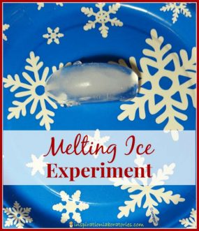 Melting Ice Experiment from Inspiration Laboratories