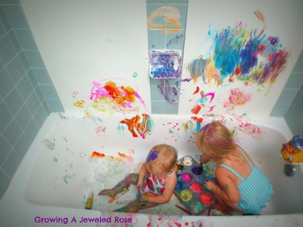 messy play 10 tips to keep messy activities clean