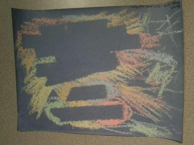 wet chalk resist kids art on hands on as we grow. Black Bedroom Furniture Sets. Home Design Ideas