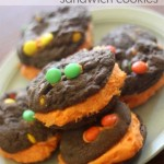 Monster Chocolate Sandwich Cookies! Nam Nam Nam
