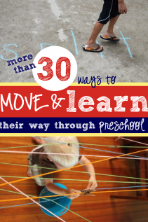 Move & Learn Their Way Through Preschool