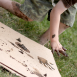 Mud Prints: Animals, Feet and Handprints
