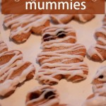 Gingerbread Mummy Halloween Treats