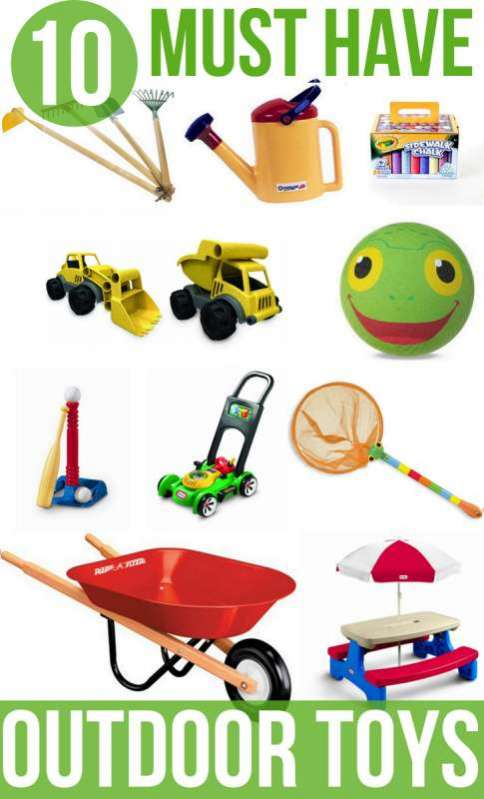 10 Must Have Toys For Outdoor Fun