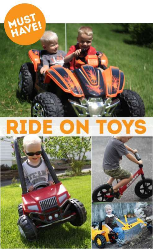 Must Have Ride On Toys for Summer!