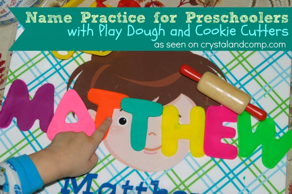 name-practice-for-preschoolers-with-play-dough-and-cookie-cutters
