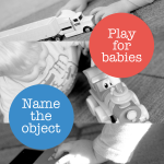 A Circle of Objects for Baby to Play & Learn