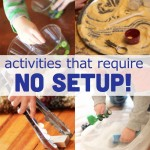 Toddler Activities That Require No Setup