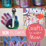 Non-Flower Crafts for Mom Made by the Kids