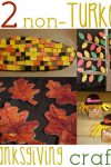 Non-Turkey Thanksgiving Crafts for Kids