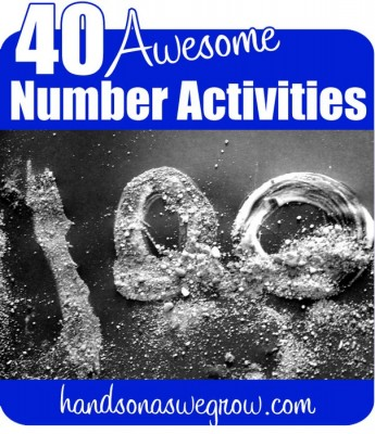 40 Math Activities for Preschoolers to Learn their Numbers & Count