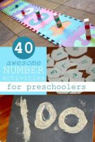 40 awesome number activities for preschoolers to learn their numbers and counting