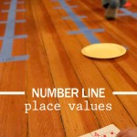 Number Line Activity with Place Values