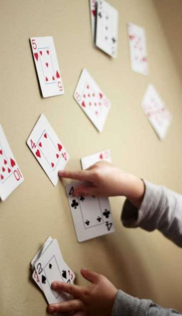 Number Match Slap with Playing Cards