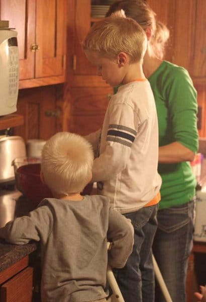 My 5 Tips for Making Once a Month Meals with the Kids