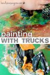 Paint with trucks