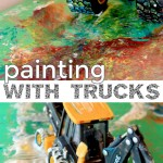 Painting with Trucks and Other Things That Go