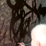Painting With Water is Easy for Toddlers