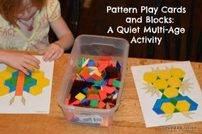 Pattern Blocks & Task Cards from Simplify Live Love