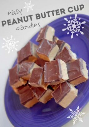 Easy peanut butter candies to make WITH the kids