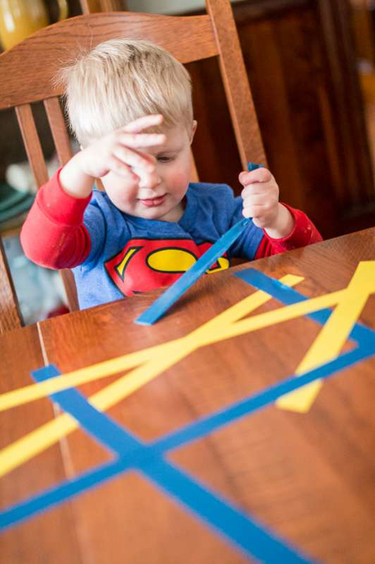 Peel Tape To Strengthen Little Fingers Hands On As We Grow