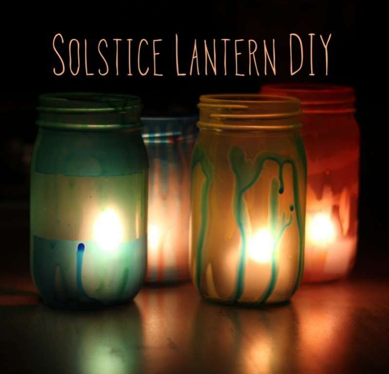 winter solstice craft ideas diy solstice lanterns from crafting connections 5741